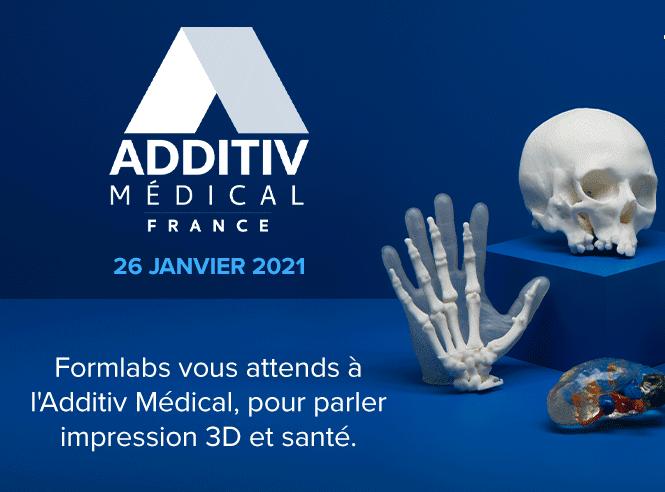 Formlabs vous invite à la rencontre des acteurs de l'industrie 3D pour la Santé