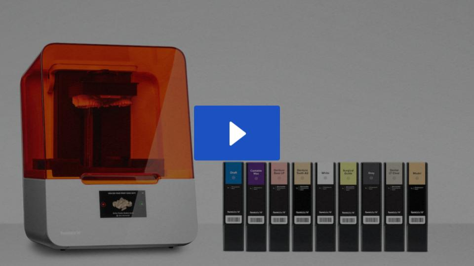 Product Demo: Form 3B Dental 3D Printer