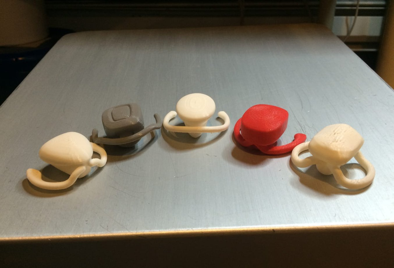 Taylor Made 3D printed golf club heads