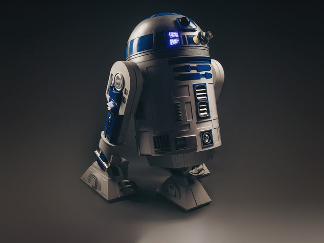 "R2-D2 3d printed ""Excuse me sir, but that R2-D2 is in prime condition, a real bargain."""