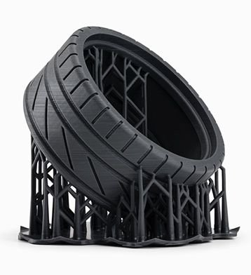 Formlabs - Engineering Materials - Flexible resin - Tire
