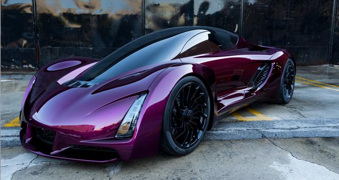 """The Blade ist das """"erste 3D-gedruckte Superauto der Welt"""". (Quelle: Divergent3D)"""