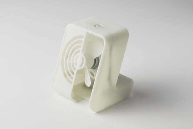 rigid resin fan