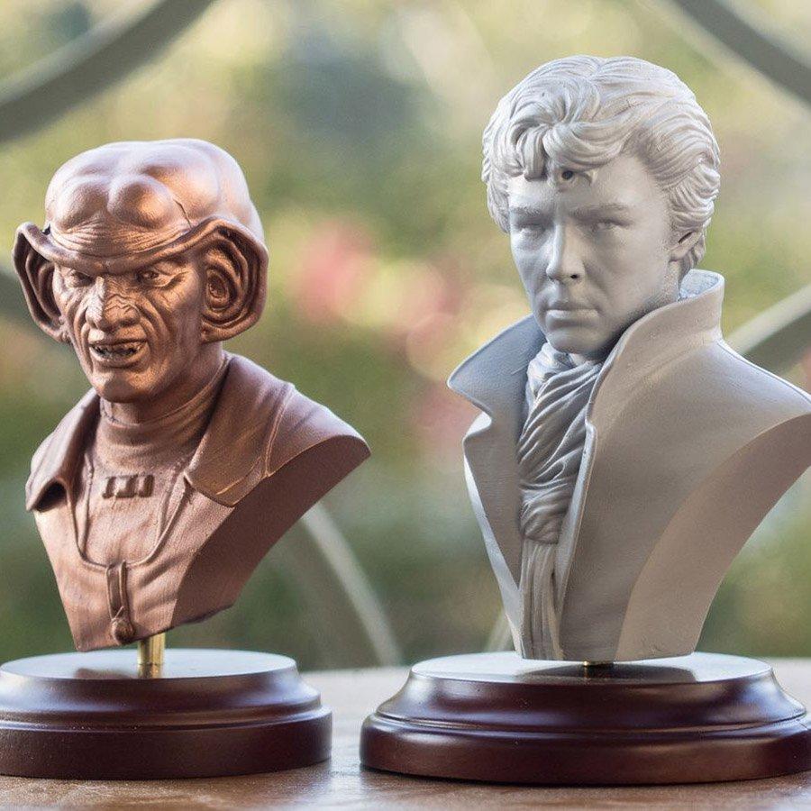 Impresión 3D en un clic para escultores digitales