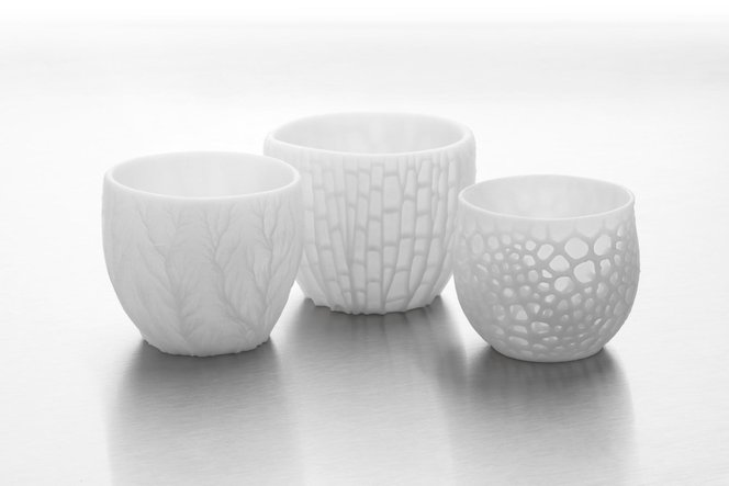 3D printing in ceramics is ideal for fabricating complex geometries that wouldn't be possible by hand.