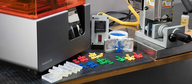 An Introduction to Injection Molding, Casting, and