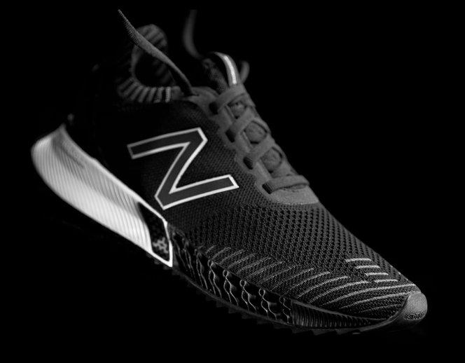 New Balance TripleCell shoe - 3D printing