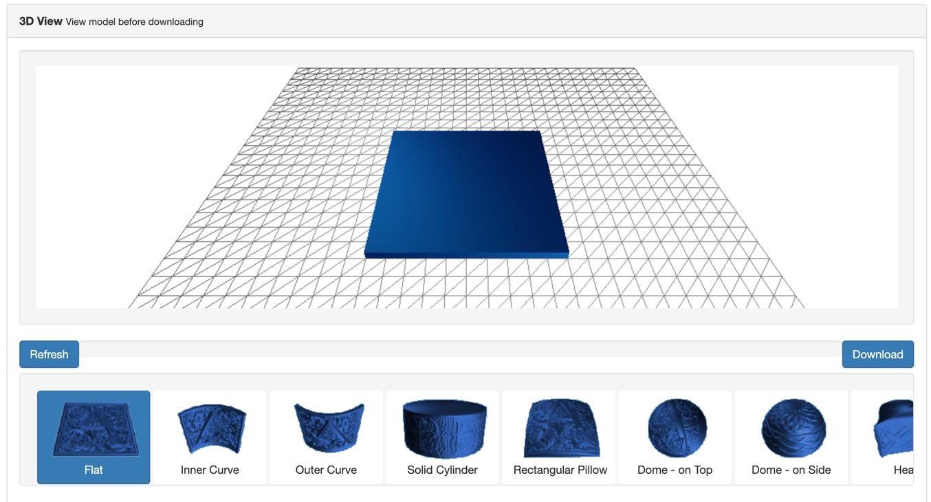 Con un generatore di litofanie drag-and-drop bastano pochi secondi per creare litofanie stampabili in 3D.
