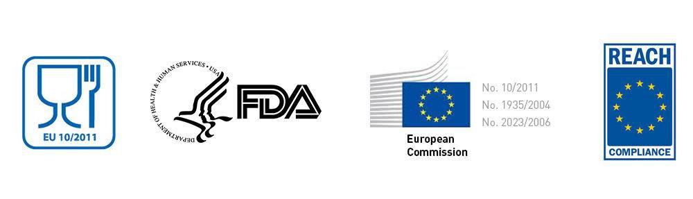 Food safe - FDA & EU guidelines