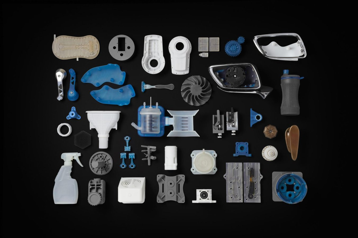 SLA 3D printers offer diverse materials for engineering and manufacturing applications.