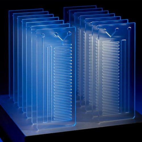 Desktop Millifluidics With SLA 3D Printing