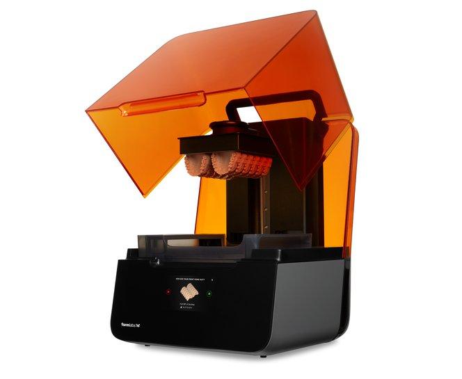 Formlabs 3D printer - Dental printed parts