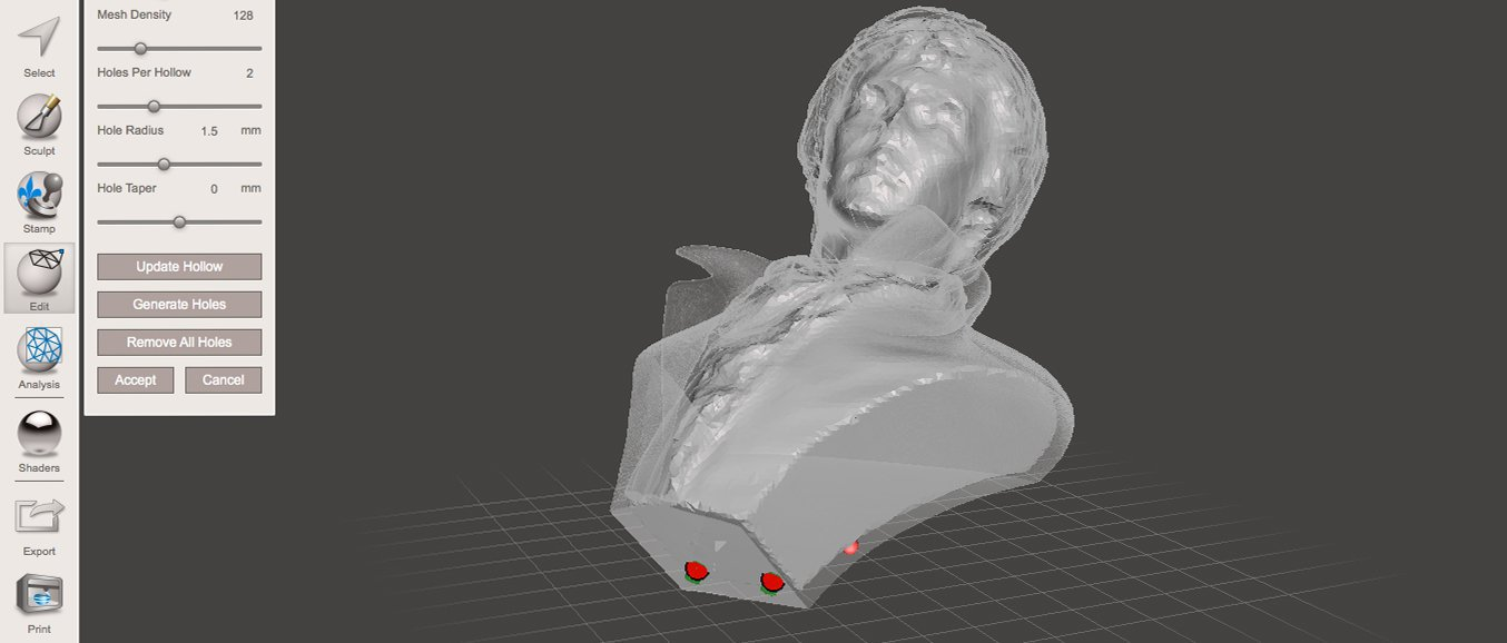 How to Hollow Out 3D Models to Save Material and Time - Preform and Meshmixer