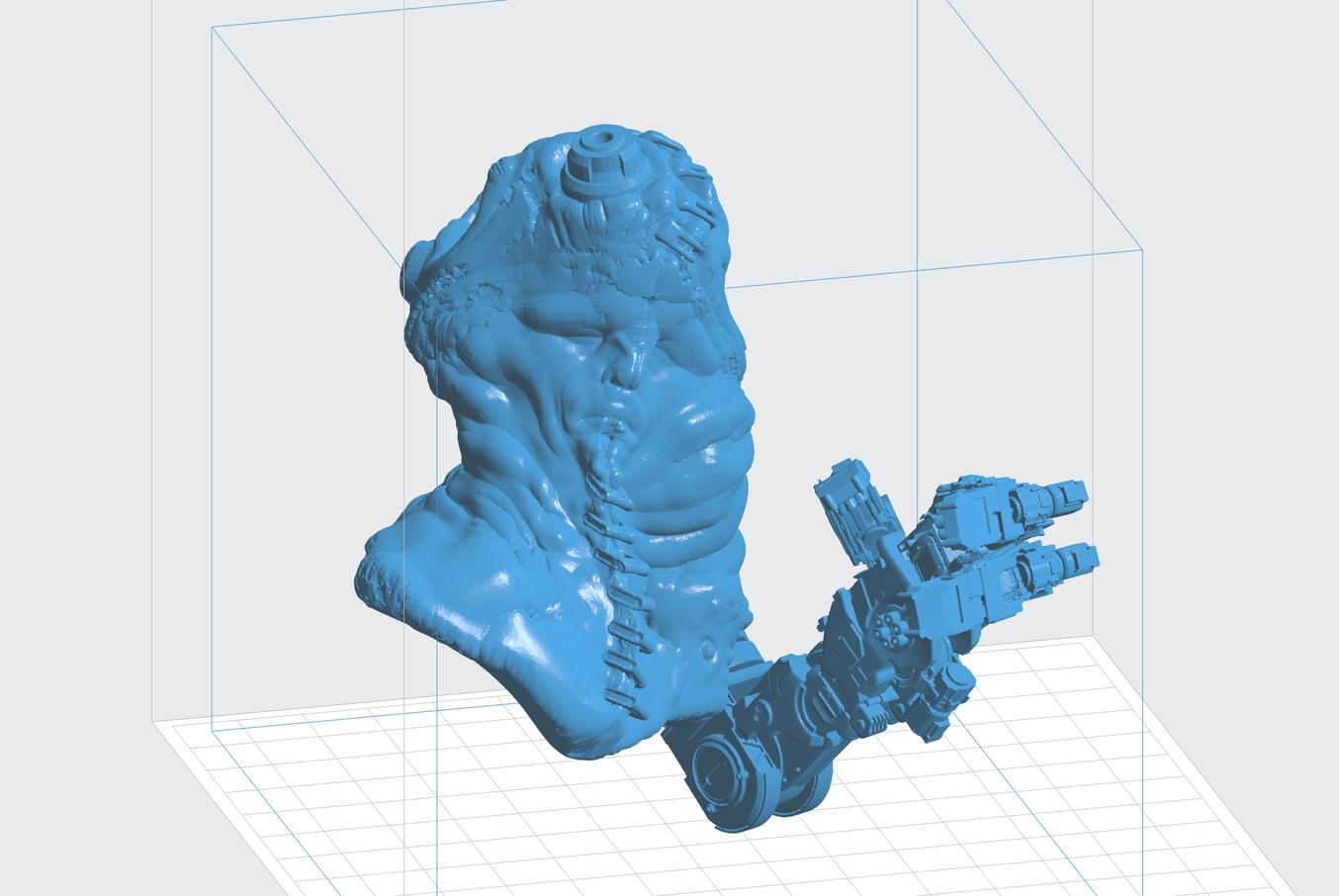 Le logiciel PreForm prépare les modèles de Landis pour impression sur son imprimante 3D Formlabs, ce qui accélère son procédé de conception.