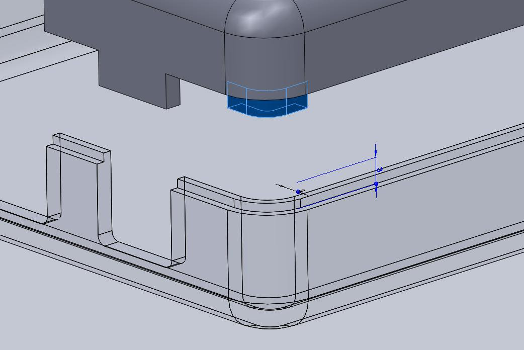 3d printing snap fit - Lugs are small extrusions that slide within the opposite enclosure to secure the two halves.