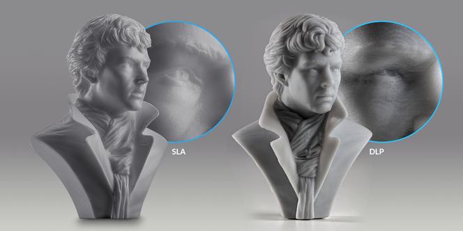 SLA vs DLP 3D-Druck Technologie