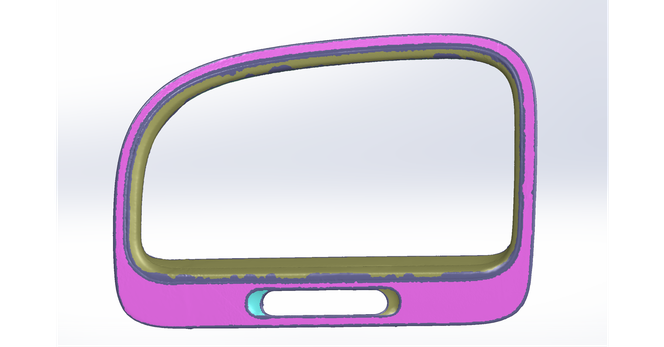 Solidworks detect surfaces - Reverse Engineering