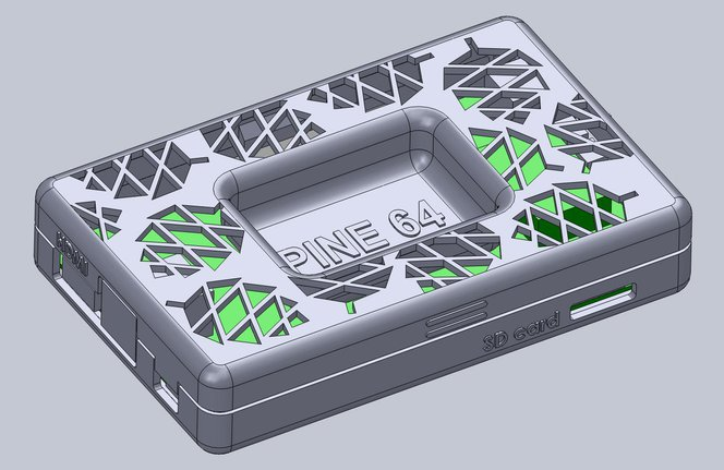 3d printing snap fit - The final design includes unique features along with the snap fit enclosure, ready to be 3D printed.