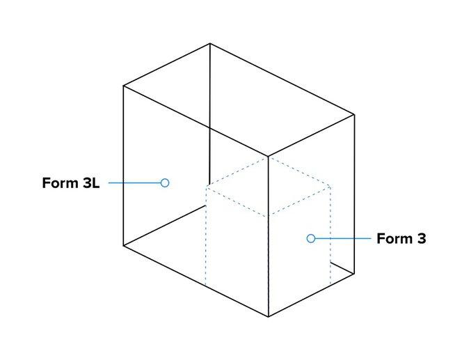 Form 3L - Large build volume - 3D printing