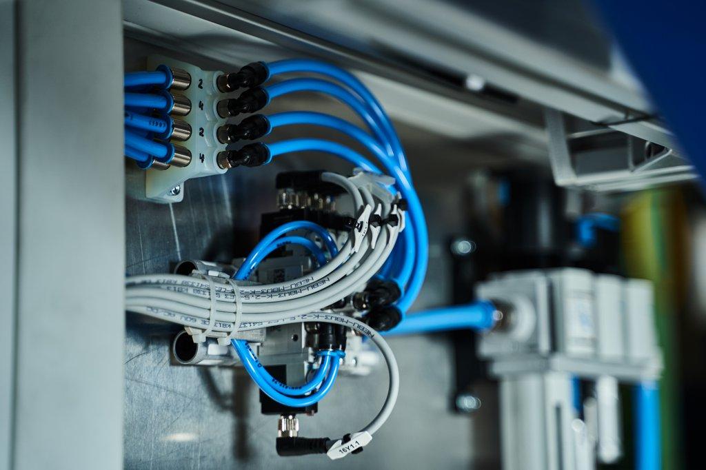 Dank der Oberflächenbeschaffenheit des SLA-3D-Drucks kann die Druckluft ohne Hindernisse fließen.