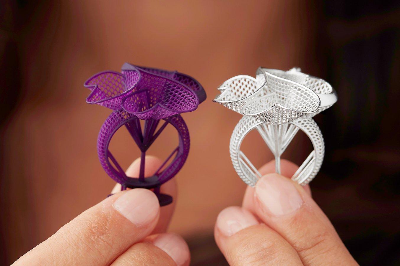 Jewelry 3D printing