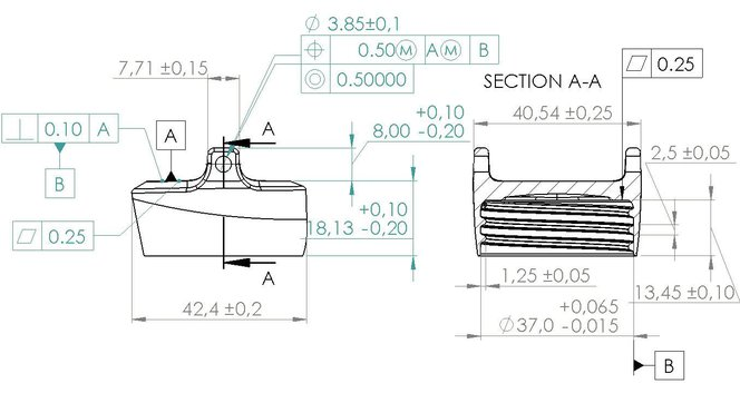 The Basics of Geometric Dimensioning and Tolerancing (GD&T