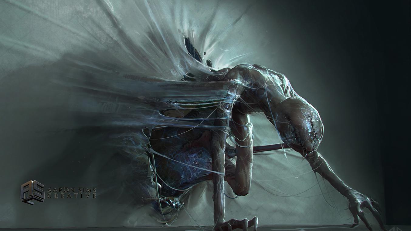 Demogoron slime - Aaron Sims Creative