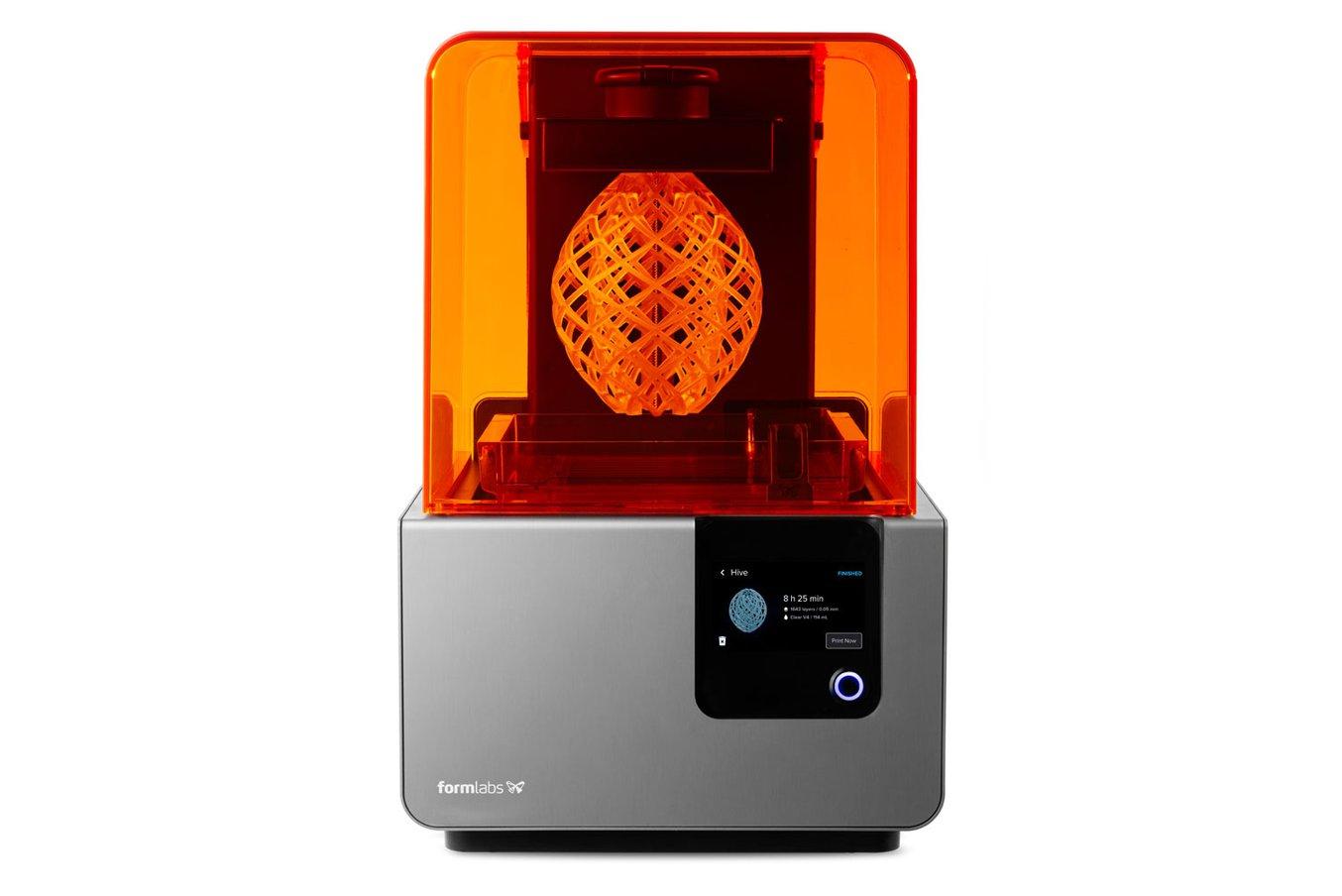Der Form 2 Desktop Stereolithografie 3D-Drucker