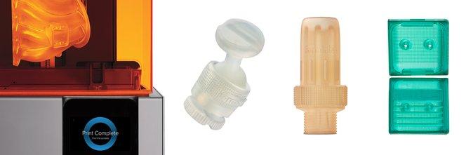 Engineering sample parts - Formlabs
