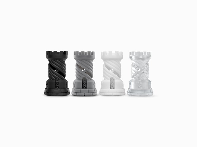 Formlabs standard resins - Black, Grey, White and Clear