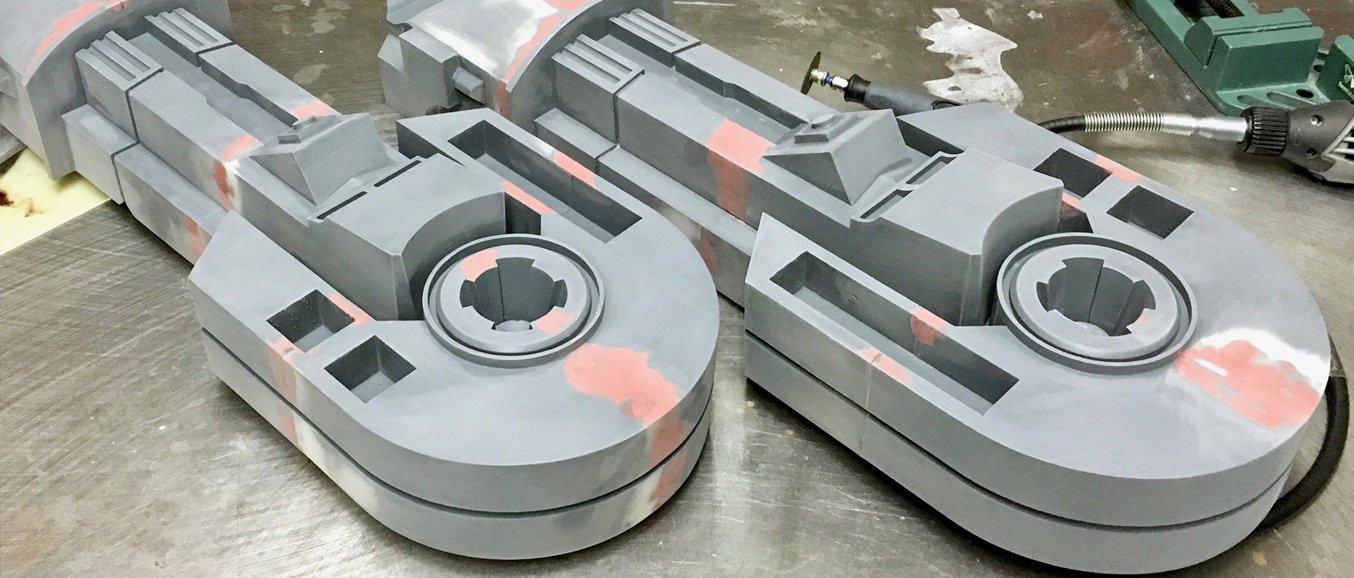 Large 3d printed model