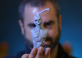 highlight image for Albträume zum Anfassen: Kreaturen-Design für Stranger Things & mehr bei Aaron Sims Creative