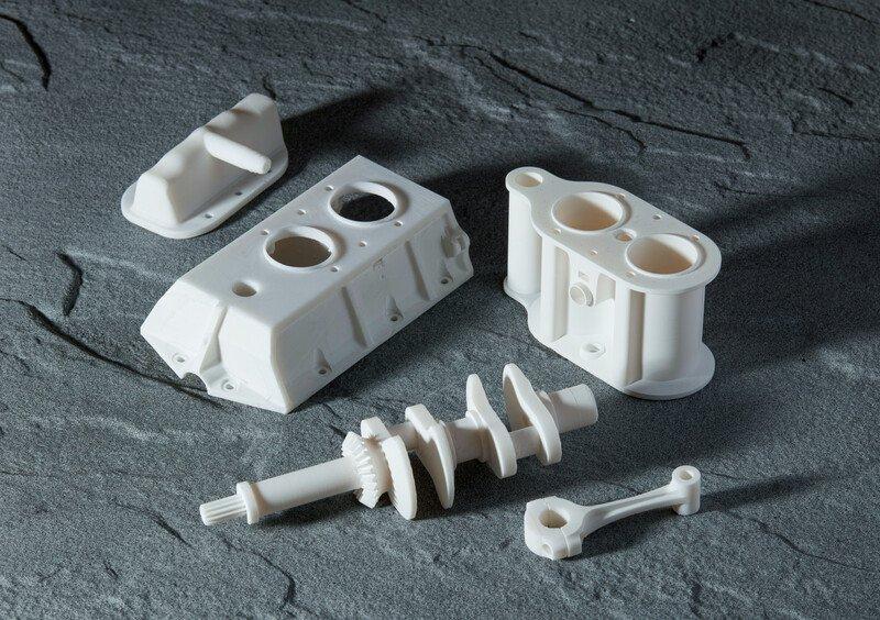 Beispiele von Drucken aus Rigid 10K Resin