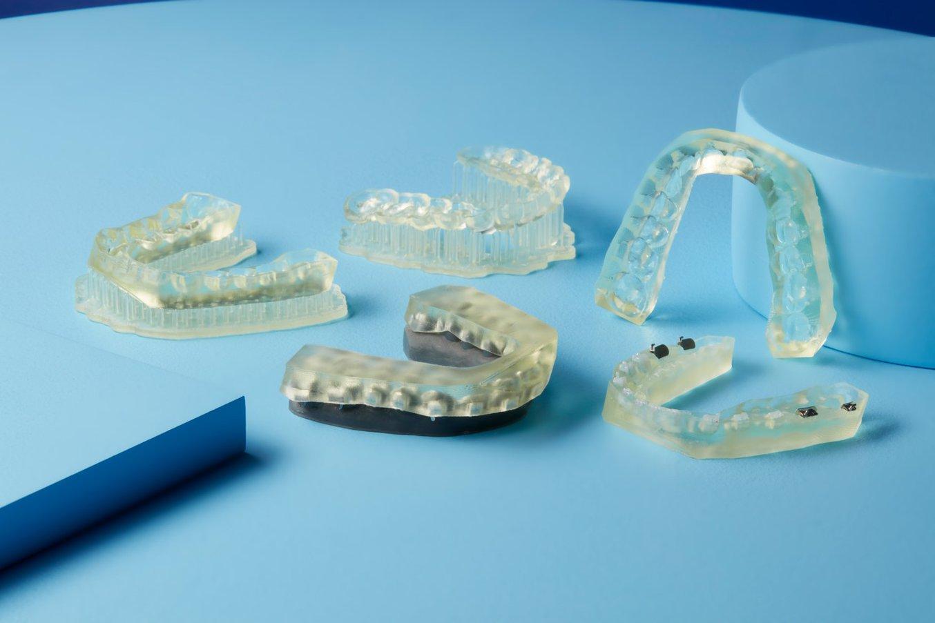 IBT Resin - Indirect Bonding Trays - Piezas impresas en 3D