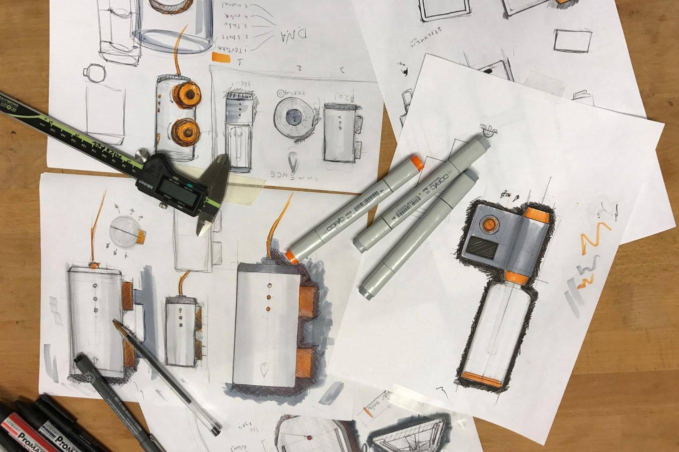 Kononsky realizó varios diseños para el borboteador.