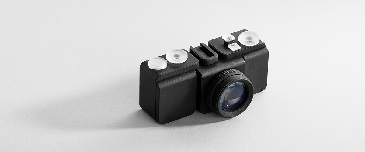 3D printing camera lens