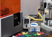 surligner l'image pour Production de petits volumes par moulage par injection, coulage et thermoformage..
