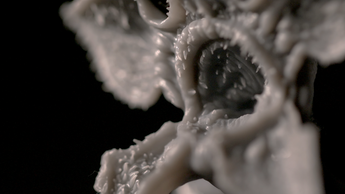 3D printing models allows designers to see the creatures they imagined in 3D space while spending much less time than they would with traditional clay sculpting techniques.