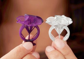 Bild für So revolutioniert der 3D-Druck die 280 Mrd. USD schwere Schmuckbranche markieren