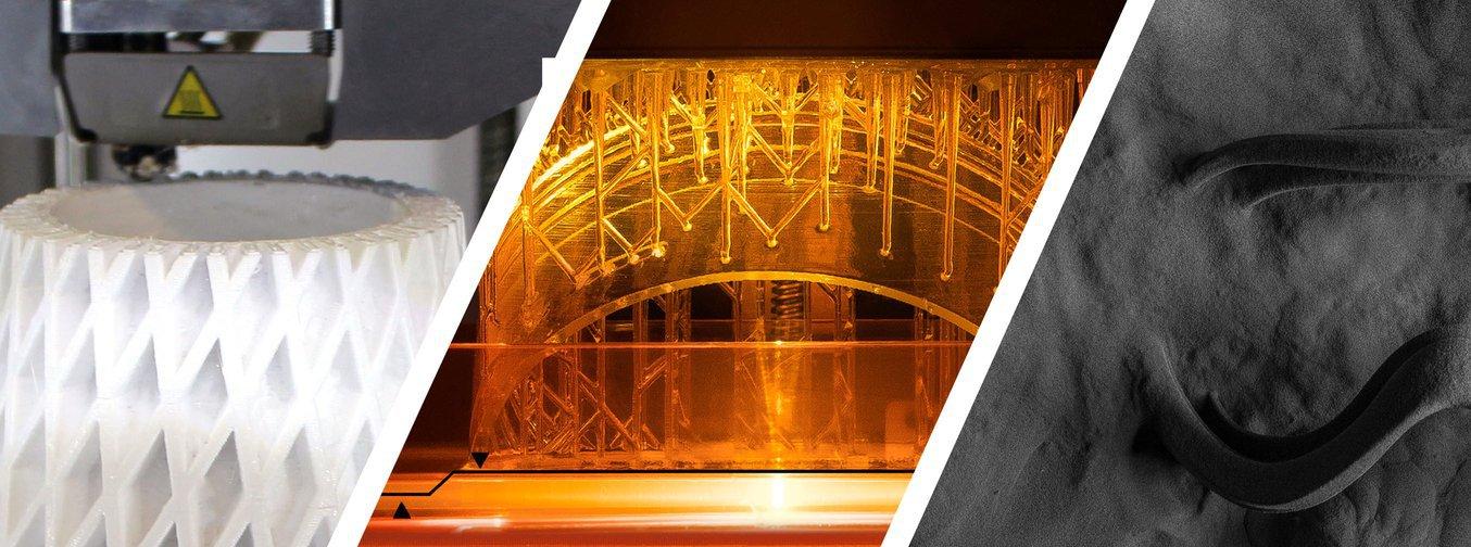 3D printing technology comparison - FDM vs. SLA vs. SLS