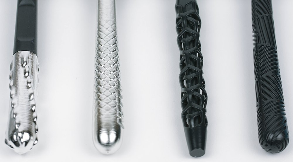 Razor 3D printed handles
