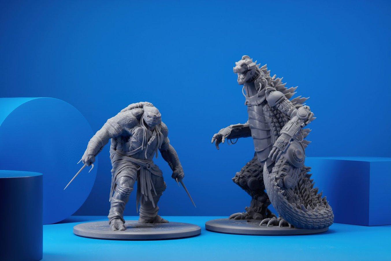 3D printing miniatures and custom figurines