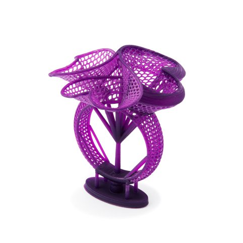 jewelry 3d printed part printed in castable resin
