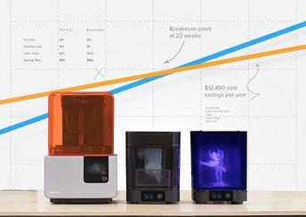 highlight image for So berechnen Sie die Investitionsrentabilität und die Kosten des 3D-Drucks   Formlabs