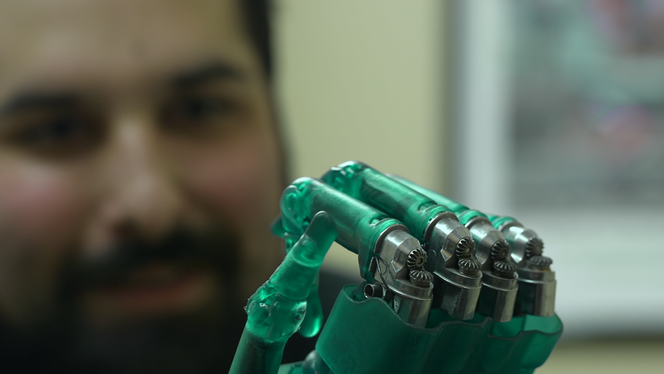 Dynamic assemblies such as this prosthetic hand require precise tolerancing.