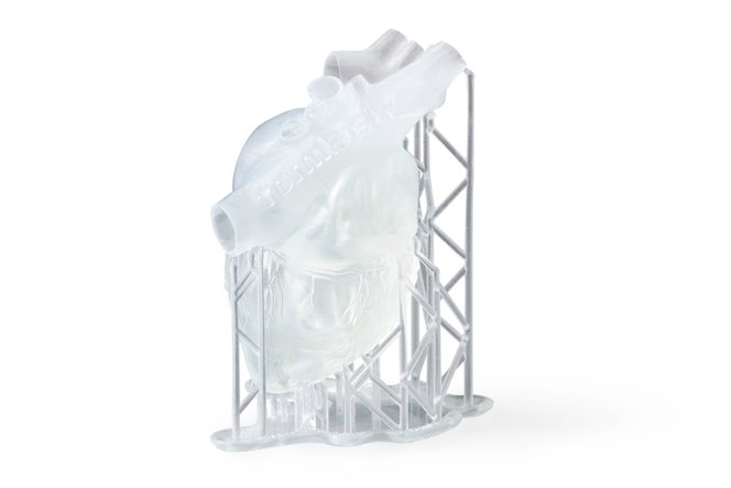 Sample part - Clear resin - Formlabs - 3D printing