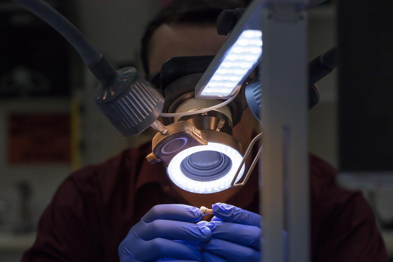 Съемные мастер-модели, созданные на 3D-принтере, аналогичны традиционным моделям, используемым для проверки окончательной реконструкции.