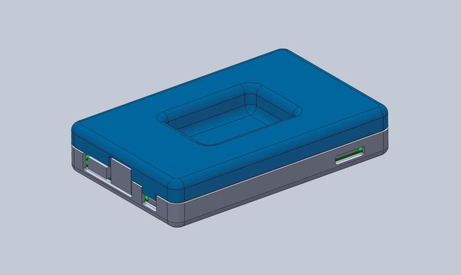 3d printing snap fit - In general, the top enclosure mirrors the geometry of the bottom enclosure.