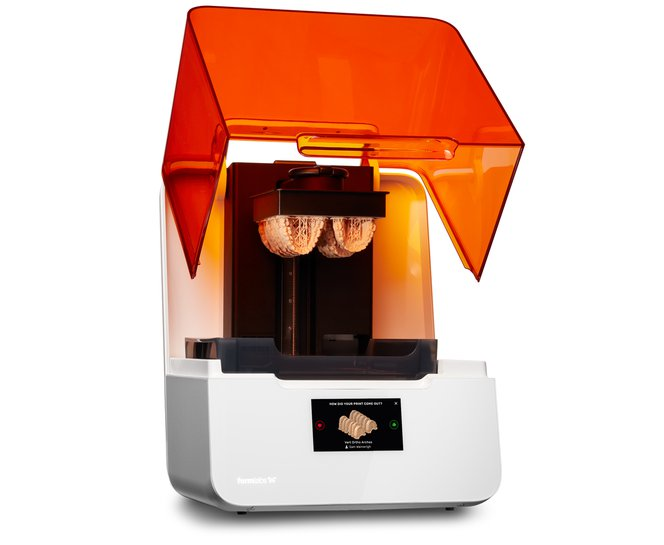 Formlabs 3D printer - Dental printed parts