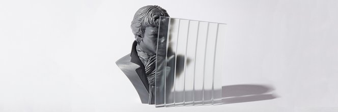 Clear and transparent 3D printing sample